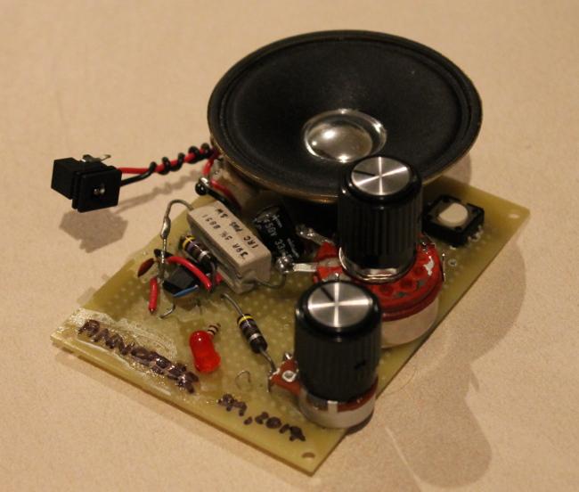 Sebastian Mihai - Electronic circuits - the Annoizer (555 speaker ...
